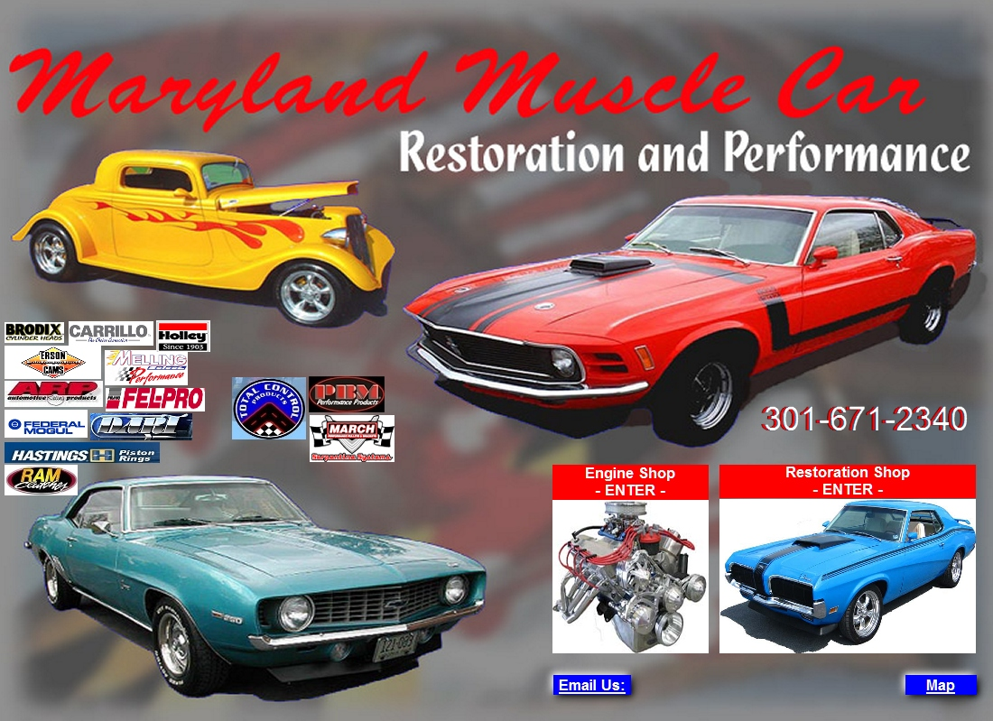 Maryland Muscle & Classic Car Restoration & Performance,Hagerstown,MD